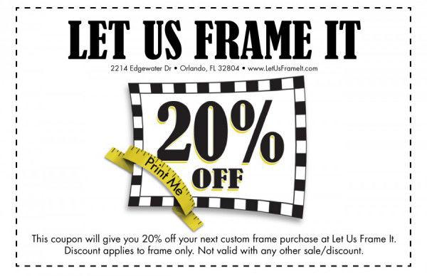 Home   Let Us Frame It   Custom Picture Framing Orlando, FLLet Us ...